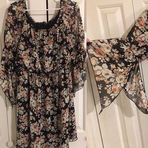Vibe Floral Dress 💐